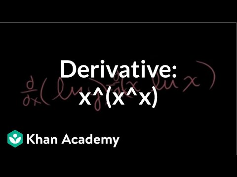 Composite exponential function differentiation (video) Khan Academy