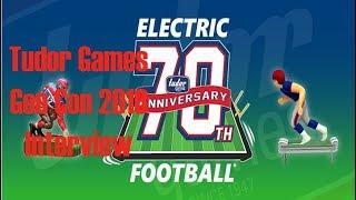 DDO Players Gen Con 2018 Tudor Games Electric Football  Interview