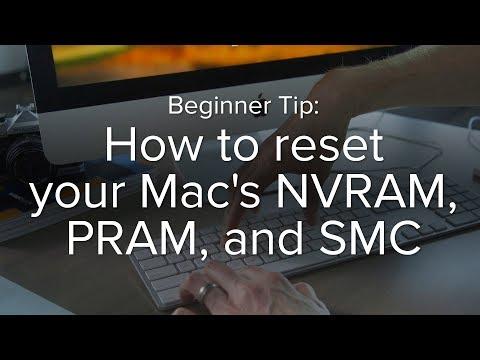 How to reset your Mac's NVRAM, PRAM, and SMC