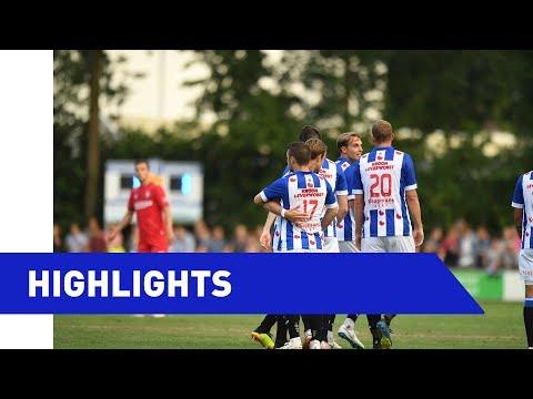 Highlights sc Heerenveen - FC Twente (oefenwedstrijd)
