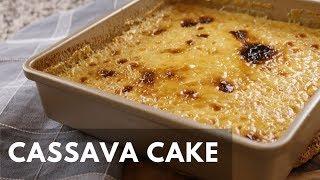 Creamy Cassava Cake | Simple Home Recipe |