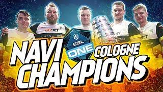 NAVI — ESL One Cologne 2018 Champions
