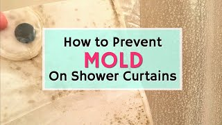 How To Prevent Mold On A Shower Curtain