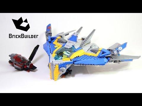 Vidéo LEGO Marvel Super Heroes 76021 : Le sauvetage du vaisseau Milano