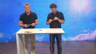 """Schärfer-Sehen-Set mit 2 Überziehbrillen """"Day Vision"""" & """"Night Vision"""""""