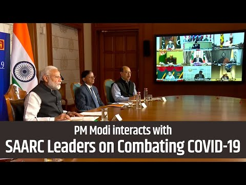 PM Modi interacts with SAARC leaders on measures to deal with COVID-19 | PMO