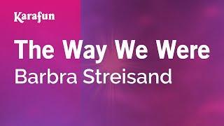 Karaoke The Way We Were - Barbra Streisand *