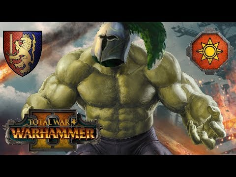 Bretonnia vs Lizardmen | MEAN & GREEN - Total War Warhammer 2