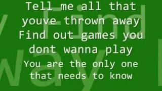 All American Rejects - Dirty Little Secret Lyrics
