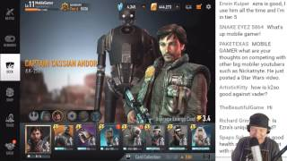 Star Wars: Force Arena - Random 2v2 w/Glutenslayer Stream
