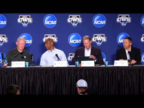 College World Series Press Conferences