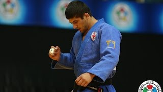 Lasha Shavdatuashvili (GEO) vs. Victor Scvortov (UAE) -73kg IJF Grand Prix Zagreb 2015