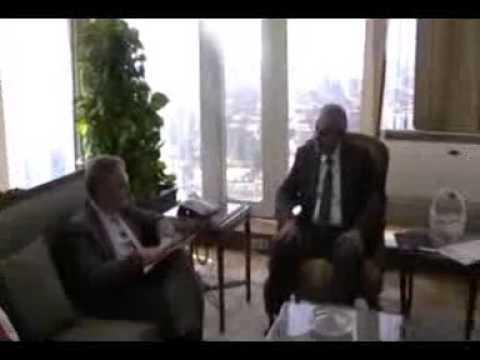لقاء المهندس/طارق قابيل وزير التجارة والصناعة مع السفير الالمانى بالقاهرة