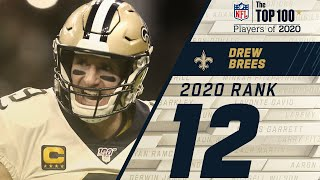 #12: Drew Brees (QB, Saints) | Top 100 NFL Players of 2020