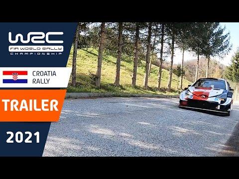 WRC 2021 第3戦ラリー・クロアチア ラリー直前のティザー動画