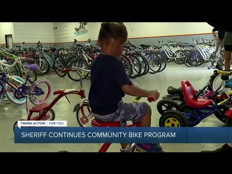 Oakland Co. Sheriff's Office continues community bike program