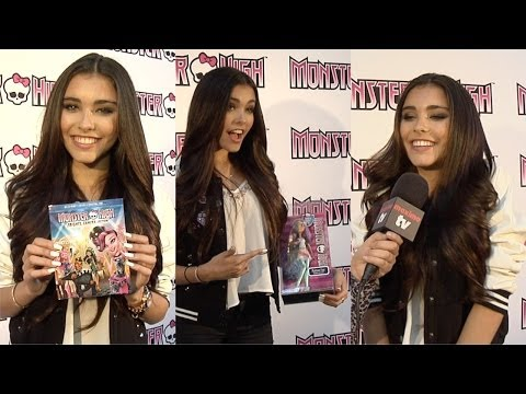 Madison Beer Interview // Monster High Frights, Camera, Action! Premiere