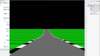 Let's make 16 games in C++: Outrun (Pseudo 3d racing)