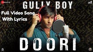 Doori Lyrics Socho Kitni Doori Hai Full Video Song   - YouTube