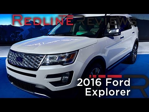 2016 Ford Explorer – Redline: First Look – 2014 Los Angeles Auto Show