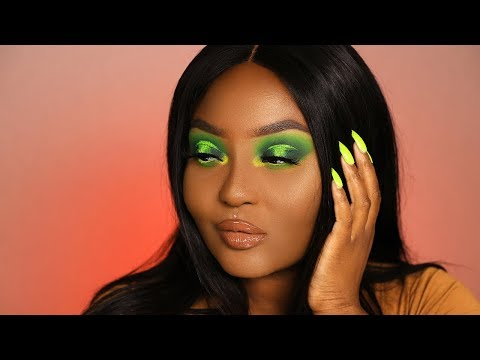 Yall ain't slime enuff 🐍 Makeup Look