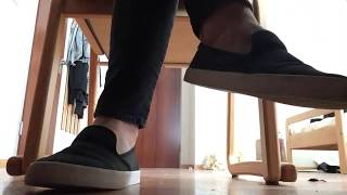 Giantess Foot fetish POV - under my desk while I work - ignored by my feet