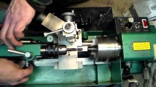 Simple lathe operations on the 7x10 mini-lathe