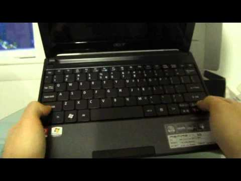 Acer Aspire One 522: Unboxing and first look