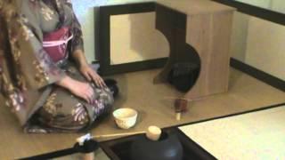 Japanese Tea Ceremony - Usucha With Ro And Houseidana
