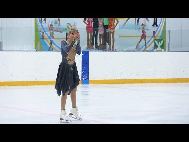 Выступление тренера мастера спорта Ксении Кашниковой