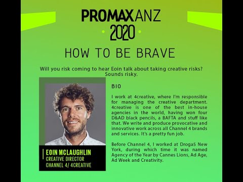 Promax ANZ Webinar – How to be Brave