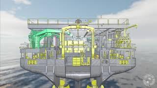 Virtual tour of RSV Nuyina trawl deck