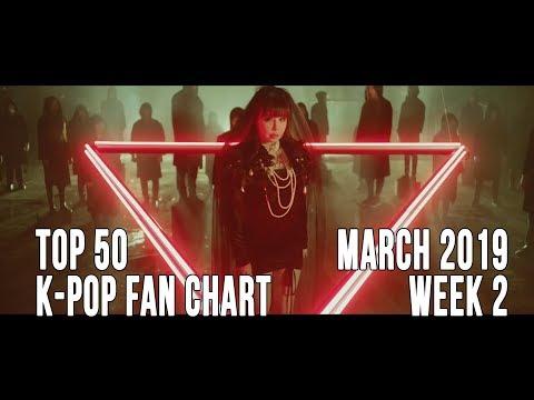 Top 50 K-Pop Songs Chart - March 2019 Week 2 Fan Chart