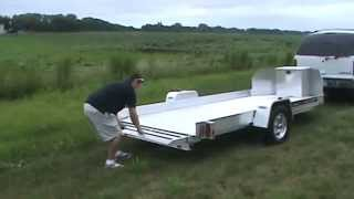 Aluma UT12 ATV Trailer Ramp