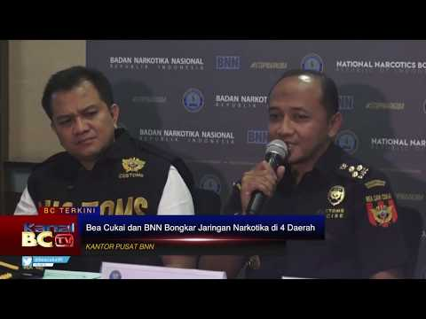 Bea Cukai dan BNN Bongkar Jaringan Narkotika di 4 Daerah
