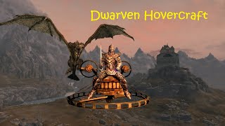 Dwarven Motorcycle and other Vehicles in Skyrim 2