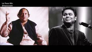 India-Pakistan Peace Anthem 'Lyrical' | Let Peace Win | A.R. Rahman, Nusrat Fateh Ali Khan