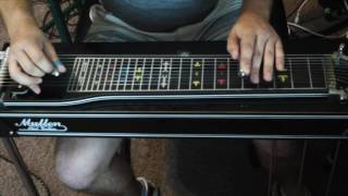 Mike Tuck -Up to My Ears in Tears - Alan Jackson guitar/pedal steel solo