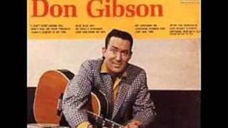 Don Gibson - ♫ Oh, Lonesome Me ♫ (Watch in HQ) 1958