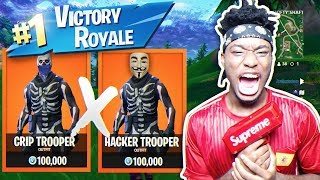 Playing Squads with a FORTNITE HACKER AND CRIP MEMBER! ft. TheMambaAtlas