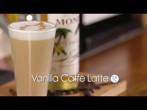 MONIN Vanilla Cafe Latte