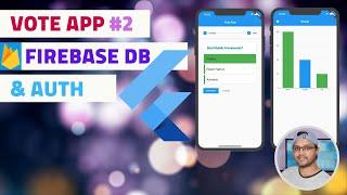 Flutter Tutorial Full App - Vote #2 | Firebase Authentication | Firestore Database