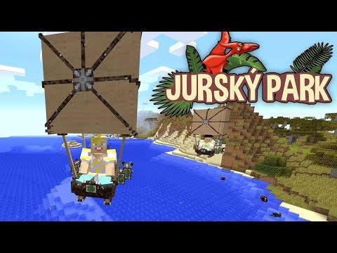 Máme vzducholodě! - MINECRAFT JURSKÝ PARK #06