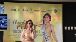 """Sau khi đăng quang Hoa hậu tài năng, Miko Lan Trinh có nhận lời mời """"tiếp rượu đại gia""""?"""