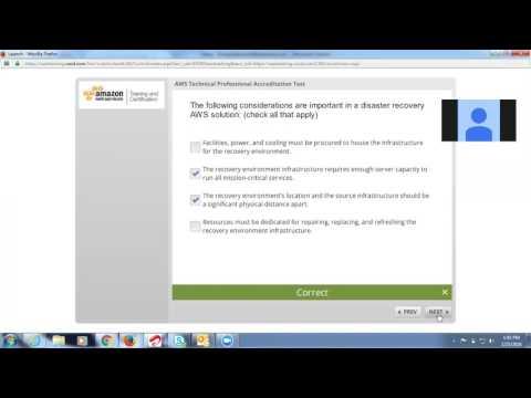 AWS professional accrediation test - YouTube
