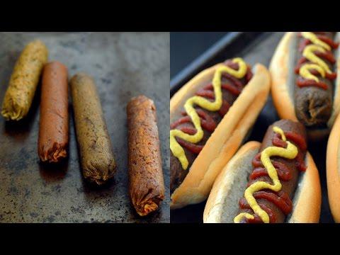 4 Vegan Sausage Recipes (Seitan)