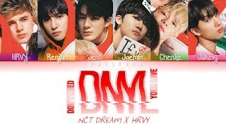 NCT DREAM X HRVY- DNYL (Don't Need Your Love) (SM STATION 3) [Han|Rom|Eng|가사 Color Coded Lyrics]