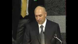 Речь Президента еврейской общины Днепропетровска Геннадия Боголюбова