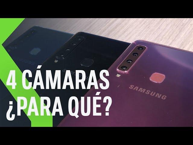 Samsung Galaxy A9 y A7, primeras impresiones: HASTA 4 CÁMARAS