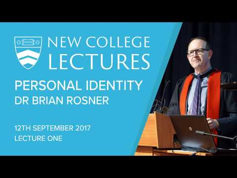 2017 New College Lectures | Lecture 1